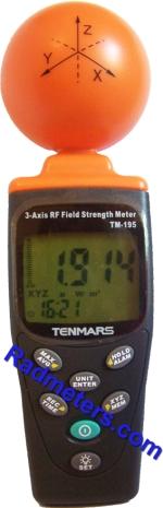 Tenmars TM-195 3-Axis RF meter