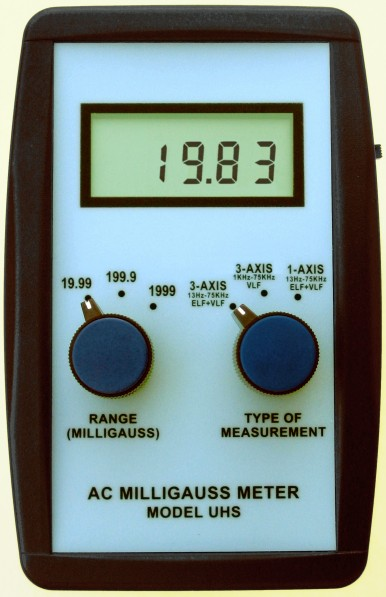 AC Milligauss Meter Model UHS