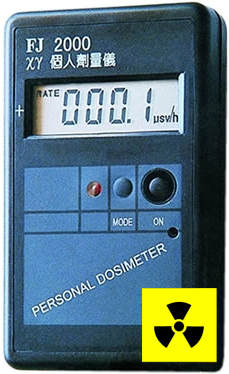 Nuclear radioactive radiation meter